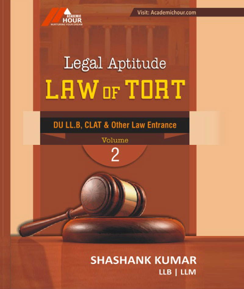 book law of tort for du llb clat