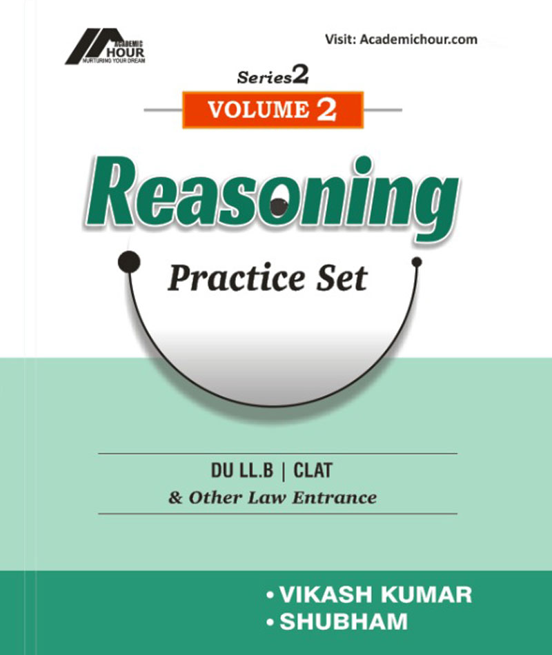 book reasoning practice set Vol  2 for du llb clat