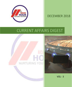 Academic Hour current affairs digest december 2018