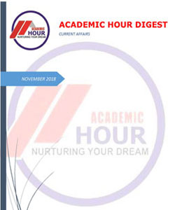 Academic Hour current affairs digest november 2018